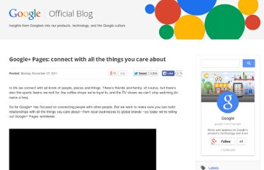 http://googleblog.blogspot.com/2011/11/google-pages-connect-with-all-things.html