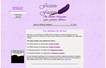http://www.fictionfactor.com/softwarefreebies.html