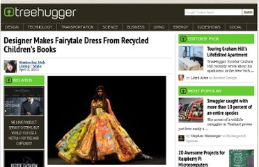 http://www.treehugger.com/style/designer-makes-fairytale-dress-from-recycled-childrens-books.html