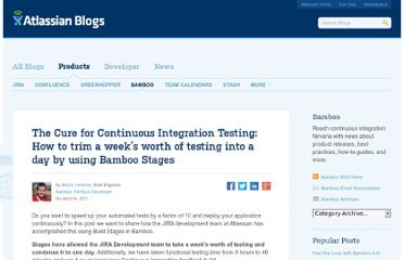 http://blogs.atlassian.com/2011/04/the_cure_for_continuous_integration_testing_how_to_trim_a_we/