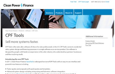 http://www.cleanpowerfinance.com/products/software/cpf-tools/