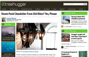 http://www.treehugger.com/interior-design/steam-punk-chandelier-from-old-bikes-yes-please.html