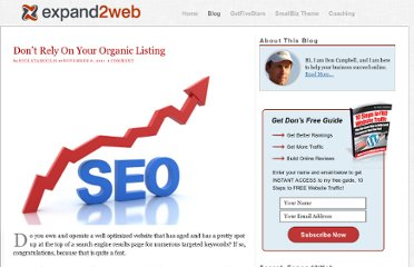 http://www.expand2web.com/blog/do-not-rely-on-your-organic-listing/