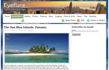 http://www.eyeflare.com/article/san-blas-islands-panama/