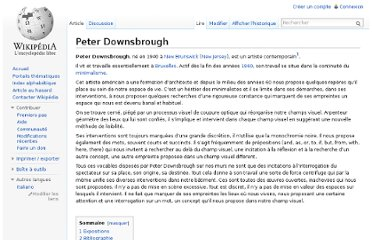http://fr.wikipedia.org/wiki/Peter_Downsbrough