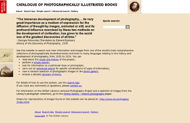 http://www.bl.uk/catalogues/photographyinbooks/welcome.htm
