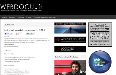 http://webdocu.fr/web-documentaire/2011/06/05/la-formation-webdocumentaire-du-cfpj/