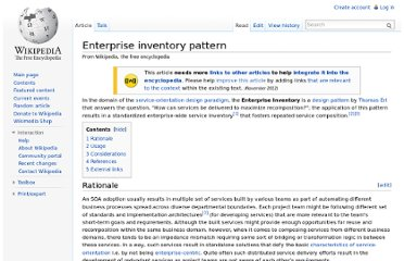 http://en.wikipedia.org/wiki/Enterprise_inventory_pattern