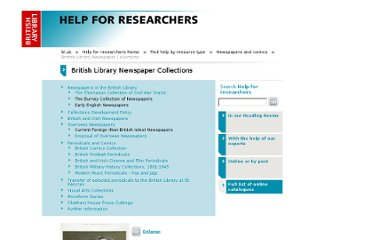 http://www.bl.uk/reshelp/findhelprestype/news/blnewscoll/index.html