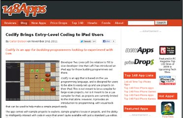 http://www.148apps.com/news/codify-brings-entrylevel-coding-ipad-users/