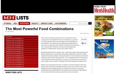 http://www.menshealth.com/mhlists/healthy-food-combinations/