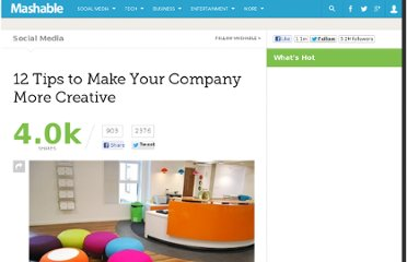 http://mashable.com/2011/11/08/company-creativity/