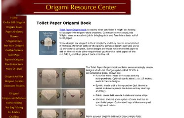 http://www.origami-resource-center.com/toilet-paper-origami-book.html