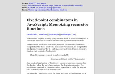http://matt.might.net/articles/implementation-of-recursive-fixed-point-y-combinator-in-javascript-for-memoization/