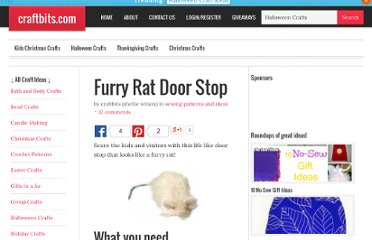 http://www.craftbits.com/project/furry-rat-door-stop