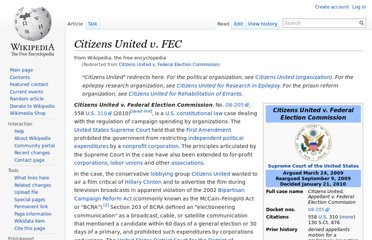 http://en.wikipedia.org/wiki/Citizens_United_v._Federal_Election_Commission