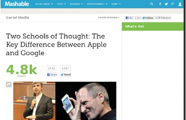 http://mashable.com/2011/11/08/apple-google-data-vs-design/