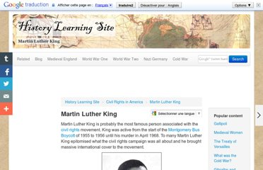 http://www.historylearningsite.co.uk/martin_luther_king.htm