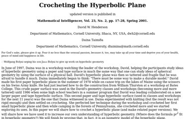 http://www.math.cornell.edu/~dwh/papers/crochet/crochet.html