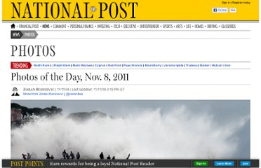 http://news.nationalpost.com/2011/11/08/photos-of-the-day-nov-8-2011/