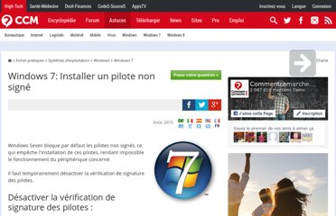 http://www.commentcamarche.net/faq/19651-windows-7-installer-un-pilote-non-signe