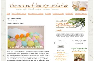 http://www.naturalbeautyworkshop.com/my_weblog/lip-care-recipes/