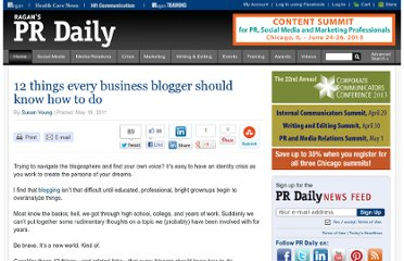 http://www.prdaily.com/Main/Articles/12_things_every_business_blogger_should_know_how_t_8293.aspx