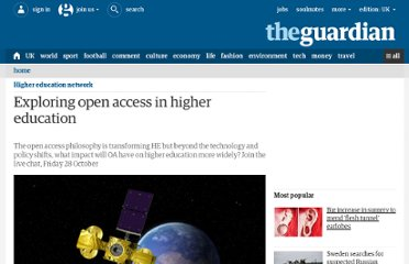 http://www.guardian.co.uk/higher-education-network/blog/2011/oct/25/open-access-higher-education#start-of-comments
