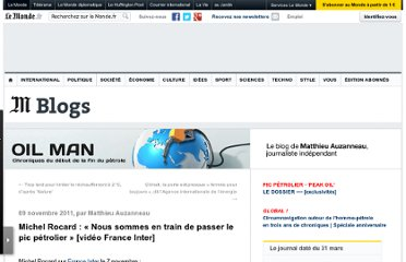 http://petrole.blog.lemonde.fr/2011/11/09/michel-rocard-nous-sommes-en-train-de-passer-le-pic-petrolier/