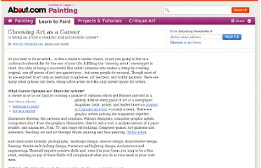 http://painting.about.com/od/careerdevelopment/a/artcareer.htm