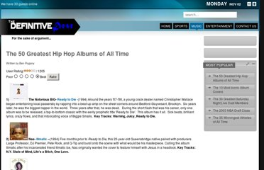 http://definitivedose.com/music/feature-articles/50-greatest-hip-hop-albums