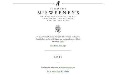http://www.mcsweeneys.net/articles/seven-bar-jokes-involving-grammar-and-punctuation