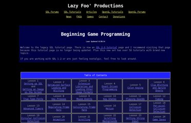 http://lazyfoo.net/SDL_tutorials/index.php