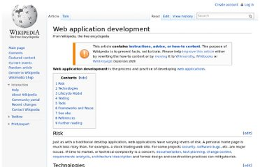 http://en.wikipedia.org/wiki/Web_application_development