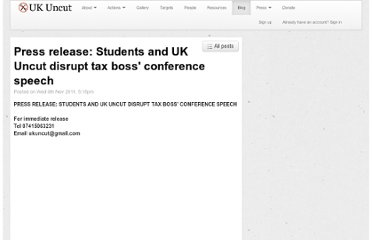 http://ukuncut.org.uk/blog/press-release-uk-uncut-disrupt-tax-boss-speech