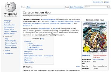 http://en.wikipedia.org/wiki/Cartoon_Action_Hour