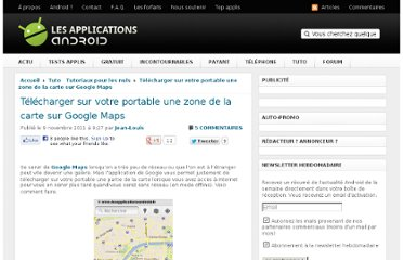 http://www.lesapplicationsandroid.fr/2011/11/telecharger-sur-votre-portable-une-zone-dune-carte-sur-google-maps/