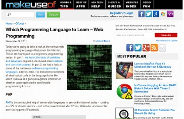 http://www.makeuseof.com/tag/programming-language-learn-web-programming/