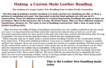http://home.windstream.net/henryh/Custom-Leather-Handbag.html