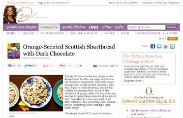 http://www.oprah.com/food/Orange-Scented-Scottish-Shortbread-with-Dark-Chocolate