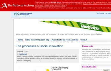 http://blogs.bis.gov.uk/publicsectorinnovation/2011/11/07/the-processes-of-social-innovation/
