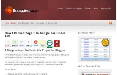 http://bloggingdojo.com/ebooks/how-i-ranked-page-1-in-google-for-under-50-2/