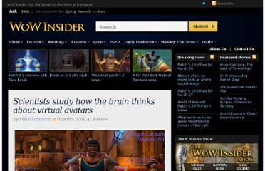 http://wow.joystiq.com/2009/11/06/scientists-study-how-the-brain-thinks-about-virtual-avatars/2