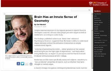 http://uscnews.usc.edu/university/brain_has_innate_sense_of_geometry.html