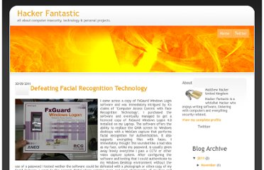 http://blog.hackerfantastic.com/2011/09/defeating-facial-recognition-technology.html