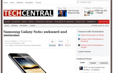 http://www.techcentral.co.za/samsung-galaxy-note-review-awkward-and-awesome/27244/