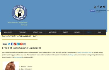 http://scoobysworkshop.com/calorie-calculator/