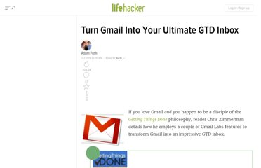 http://lifehacker.com/5321180/turn-gmail-into-your-ultimate-gtd-inbox