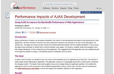http://www.webperformance.com/library/reports/ajax-bandwidth-testing/