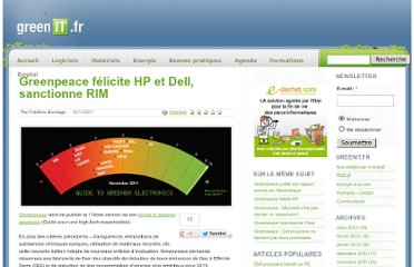 http://www.greenit.fr/article/acteurs/constructeur/greenpeace-felicite-hp-et-dell-sanctionne-rim-4072